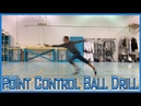 Fencing Blade Drills You Can Practice At Home - Point Control Ball Drill
