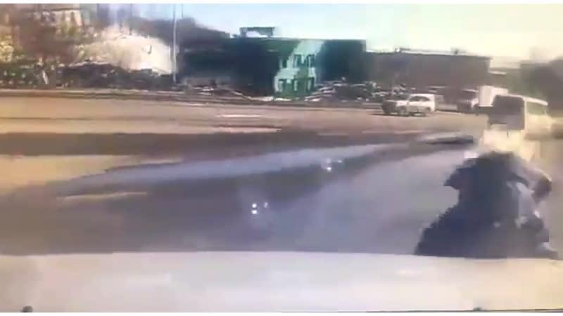Наезд на пешехода в Петропавловске-Камчатском