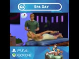 Treat yo self! Visit the Perfect Balance Spa for a revitalizing massage The Sims 4 Spa Day is coming to PlayStation 4 and Xbox O