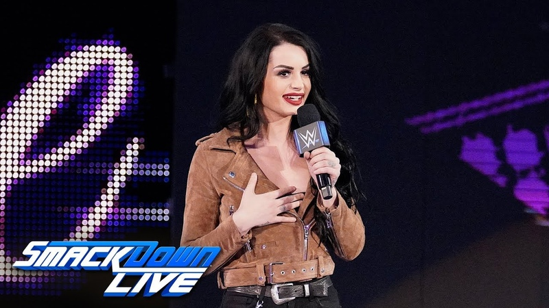 Paige introduces the team of Asuka Kairi Sane: SmackDown LIVE, April 16, 2019