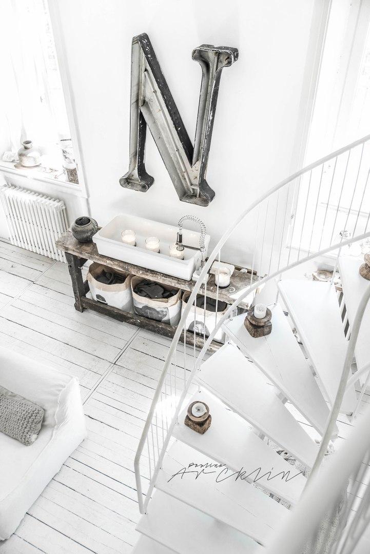 Белоснежный лофт