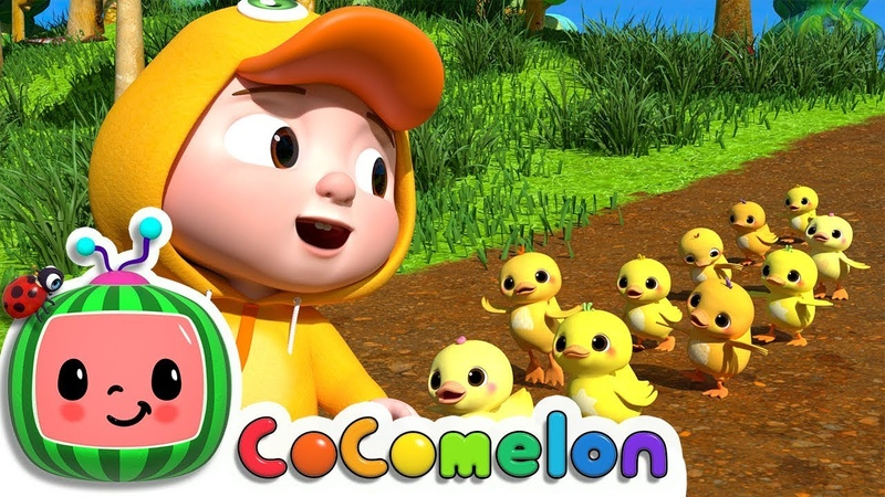 Ten Little Duckies (A Counting Song) | CoCoMelon Nursery Rhymes Kids Songs