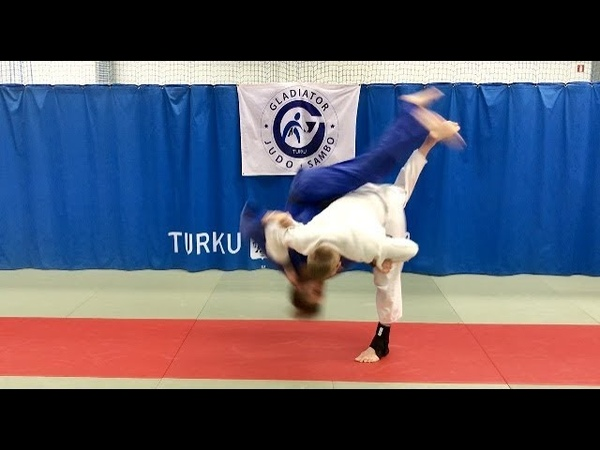 Дзюдо.Золотой бросок Shohei OnoХанэ госи.Judo. Judo throw. Hane goshi