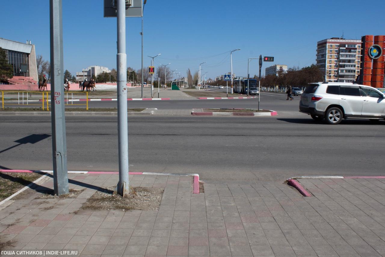 пешеходный переход Рудный