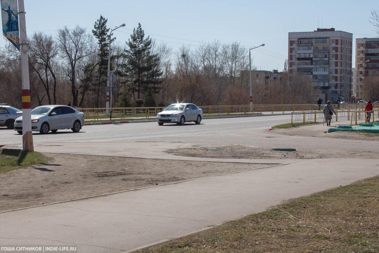 Угловатый пешеходный переход