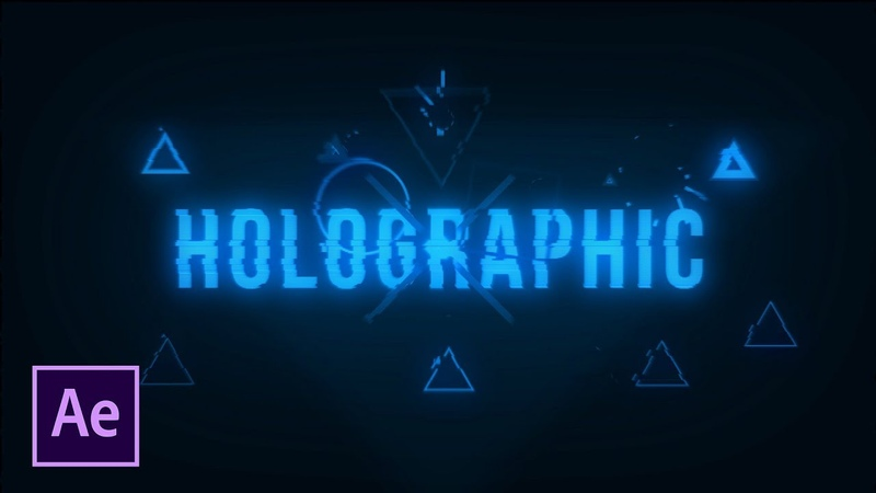 3 Holographic Effects For Motion Graphics VFX | After Effects Tutorial