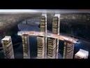 Горизонтальный небоскреб Ascott Raffles City Chongqingв в Китае.