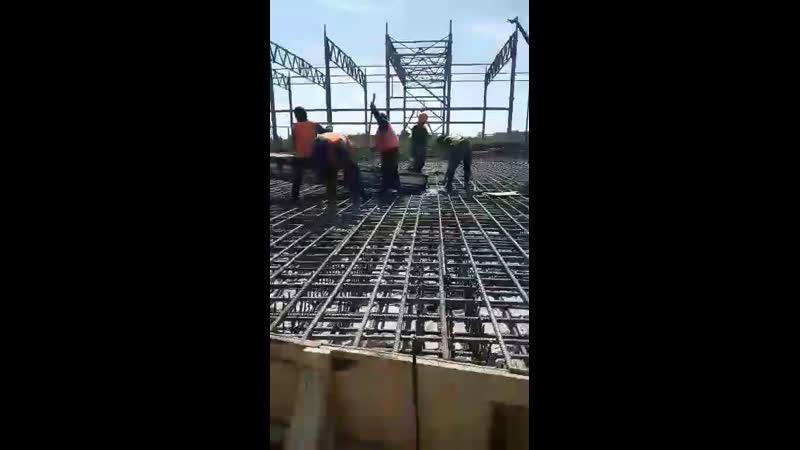 Заливка бетона под ёмкости м400 180м3