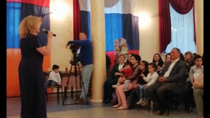 проект Александровский сад концерт посвящён Армянской народной культ