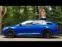 Почему Шкода Суперб круче Тойота Камри Новый Skoda Superb. Лиса рулит