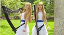 FAIRY TAIL Main Theme - Harp Twins, Camille and Kennerly