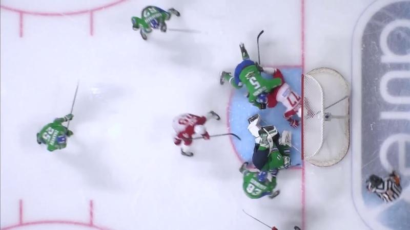 常规赛KHL 1819的最佳扑救