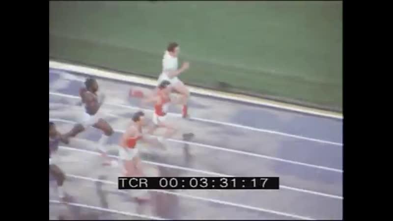 Valeri Borzov USSR USA 4x100m Relay Sochi 1977 Kiev 1975