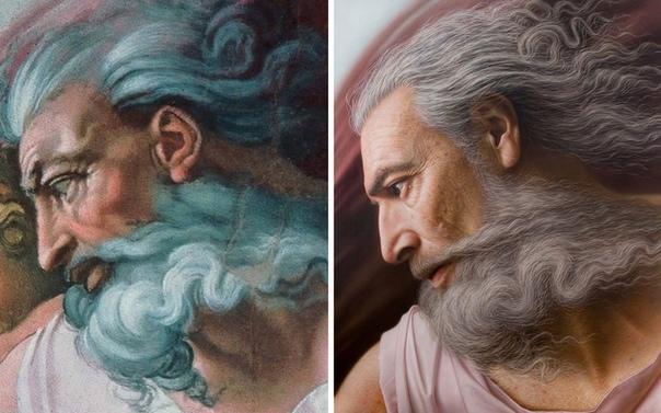 Художник превращает античные бюсты и картины в гиперреалистичные портреты Художник Joongwon Jeong придает гиперреалистичный вид знаковым произведениям искусства и знаменитым личностям из
