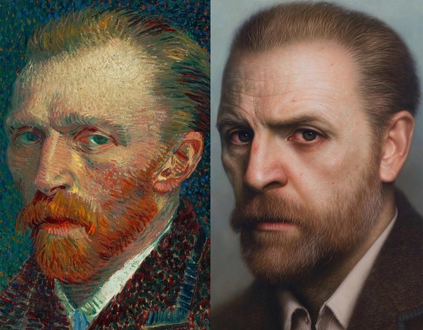 Художник превращает античные бюсты и картины в гиперреалистичные портреты