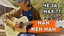Деревенский парень лабает на гитаре Nah Neh Nah