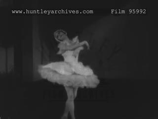 Anna pavlova dances the swan, 1920s - film 95992
