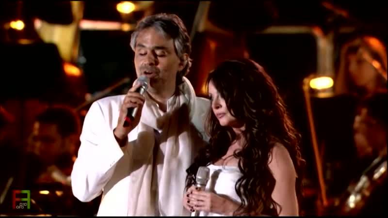 9.Andrea Bocelli - Canto Della Terra (duet with Sarah Brightman). ( Live in Tuscany ).