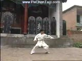 Chen Taijiquan SpearChen Village clips. Chen GuoQiang with spear