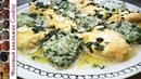 Разноцветные Кнели из тыквы и шпината Овощной гарнир клецки для супа и закуска