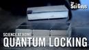 The Sci Guys: Science at Home - 10K Sub Bonus: Quantum Locking and Flux Pinning - Quantum Levitation