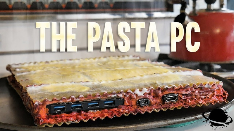 I made a PC out of pasta and it WORKED | Crazy PC Builds