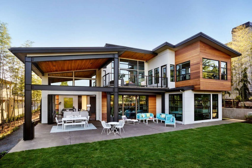 Garrison Hullinger Interior Design Create a Contemporary Two-Storey Home in Portland