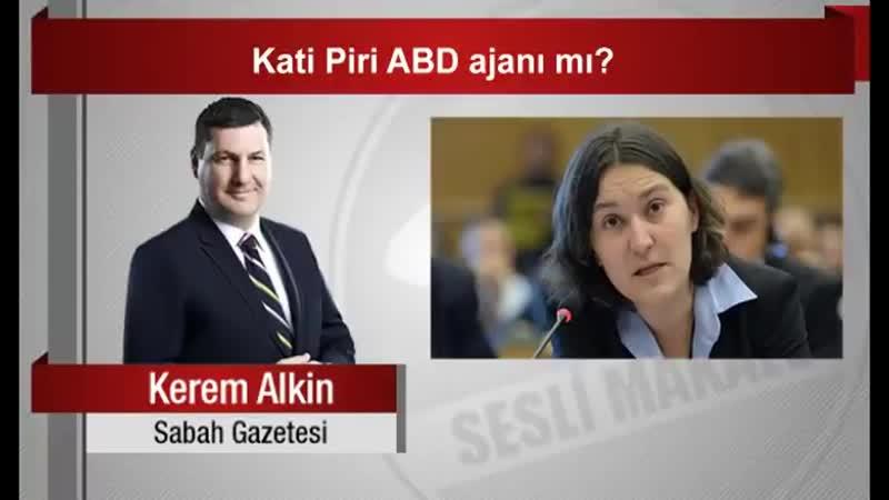 Kerem Alkin _ Kati Piri ABD ajanı mı