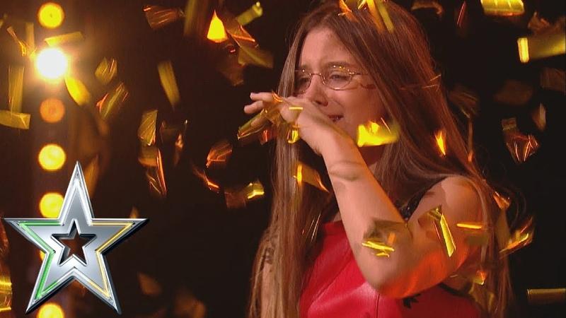 14 year old singer Iveta gets Michelles Golden Buzzer! | Irelands Got Talent 2019