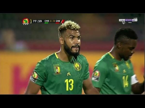 ملخص مباراة الكاميرون وغينيا بيساو 2-0 هدفين
