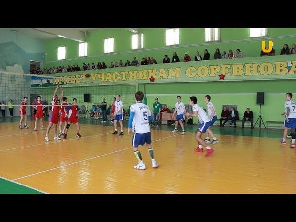 Новости UTV. Турнир по волейболу,посвящённый памяти Сергея Туленкова