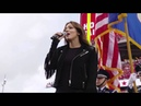 Katharine McPhee sings National Anthem @ 49ers vs. Ravens - 10/18/15