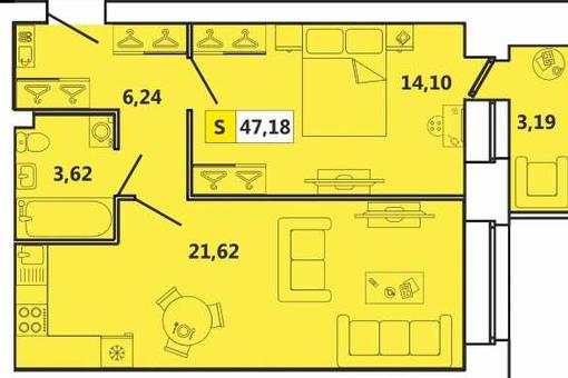 купить квартиру Индустриальная 2 оч.