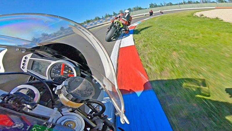 Realistic Triumph Daytona 675 POV   Brit Bike Trophy
