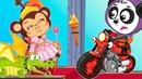 Мультики Про Цветные Мотоциклы и Дракона - Новые Игрушки, Рыцари и Приключения На Биби Шоу AR