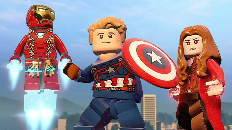 Qewbite ГРАЖДАНСКАЯ ВОЙНА LEGO Marvel's Avengers DLC
