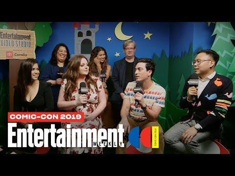 'Superstore' Stars America Ferrera, Ben Feldman Cast LIVE | SDCC 2019 | Entertainment Weekly