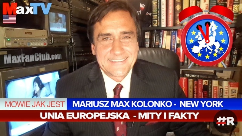 R Max Kolonko Głosuj Polaku! mamciszewdupie (z MaxTVGO)