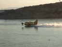 Canadair CL-415 water bombers, and idiots with boats