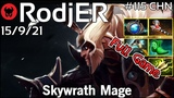 Support RodjER VP plays Skywrath Mage!!! Dota 2 Full Game 7.21
