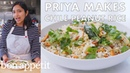 Priya Makes Chile Peanut Rice From the Test Kitchen Bon Appétit