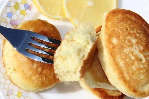 Пышные оладьи на кефире без яиц. Отличный завтрак!
