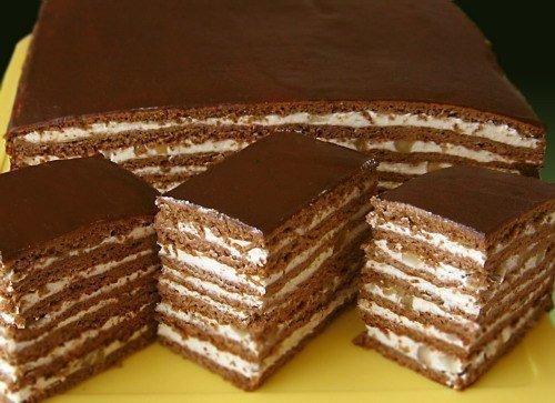 Рецепты вкусных тортов! Пригодится каждой хозяйке!