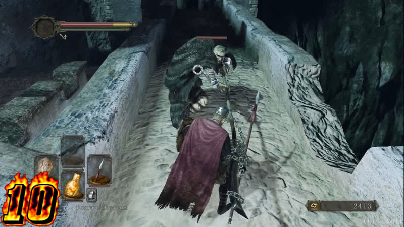 Dark Souls 2-Знакомимся с 3-мя боссам в Забытой Крепости и обследуем локацию.