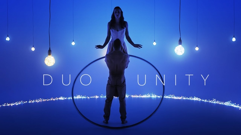 Light of Dawn by DUO UNITY Artistic Acrobatic Cyr Wheel Duo