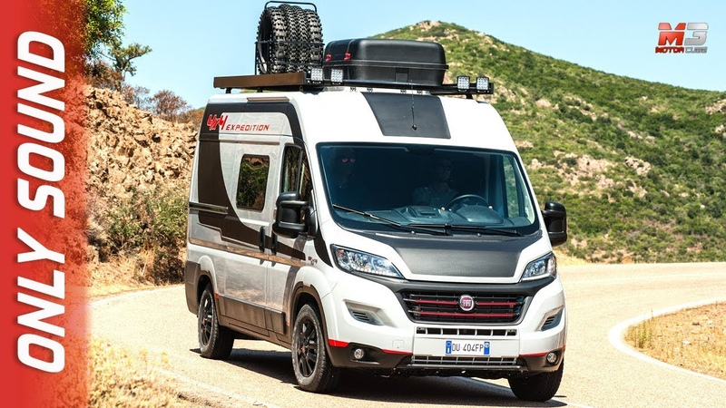 NEW FIAT DUCATO 4X4 EXPEDITION 2018 FIRST TEST DRIVE ONLY SOUND