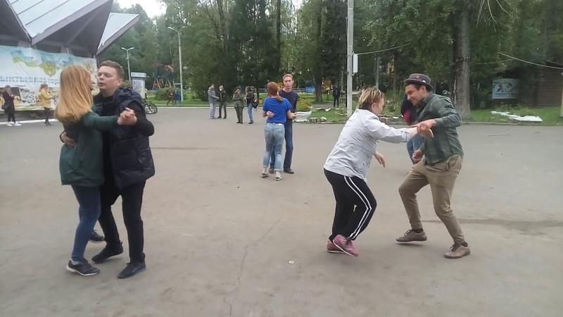 Open Air в Кировском парке 22.08.2018 - 03 - Линди-хоп