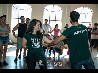 Fernando Perrotti e Monique Marculano - Demo aula Intermediário (VII Rio Zouk Congress)