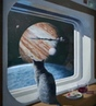 Ship's Cat painting to 3d