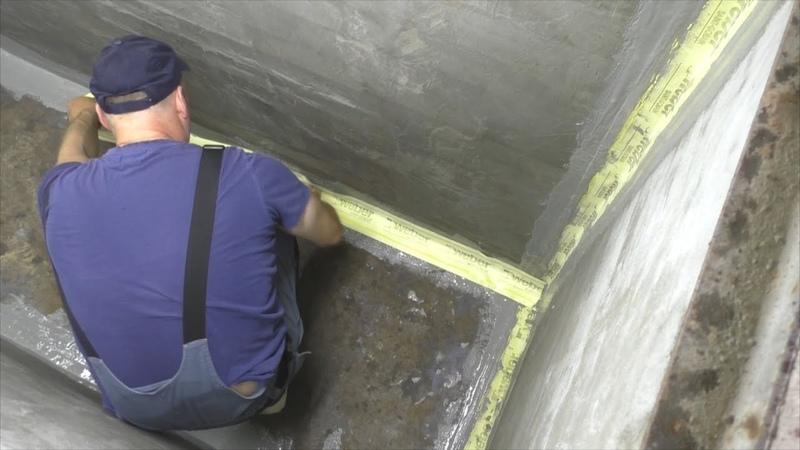 Гидроизоляция подвала или ямы в гараже. Надежный способ.